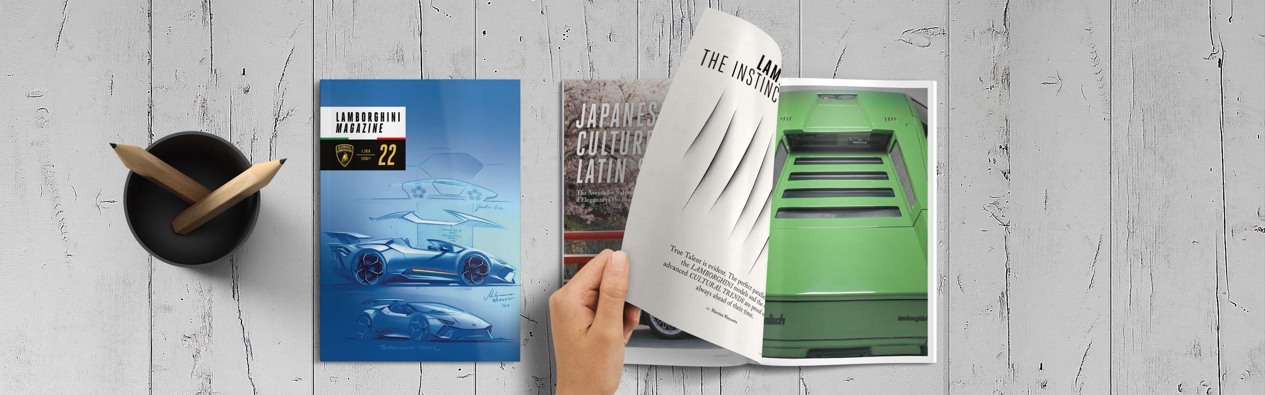Lamborghini Magazine Likecube
