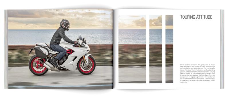 Ducati Brochure open Likecube