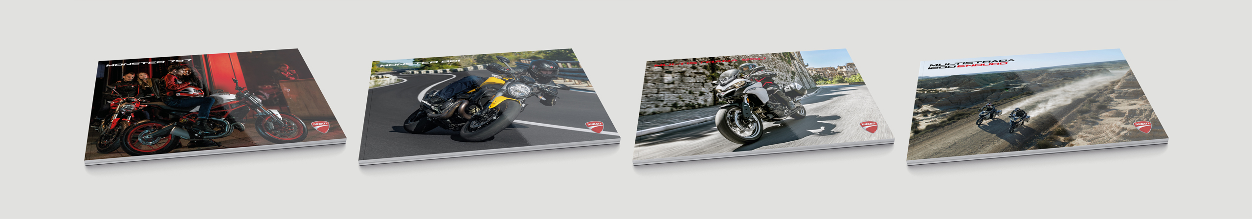 Ducati Brochure covers Likecube