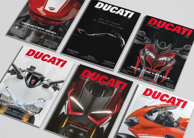 Ducati Redline magazines Likecube