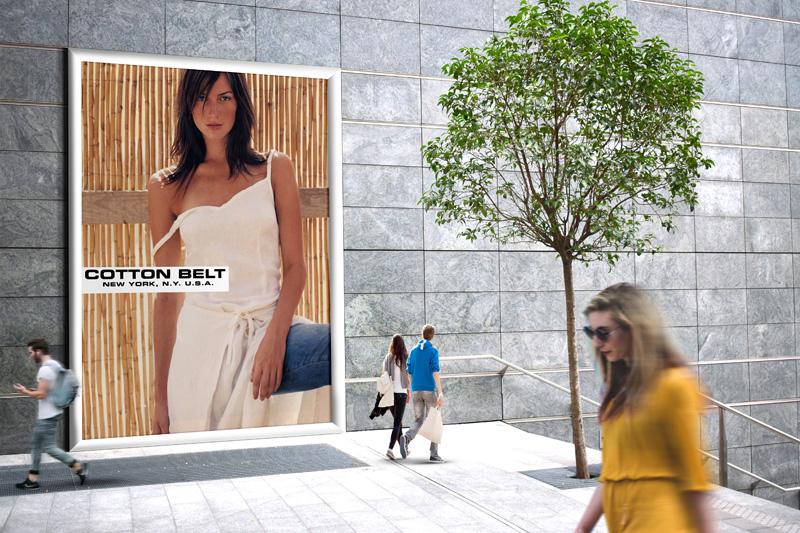 fashion Advertising Cotton Belt Likecube