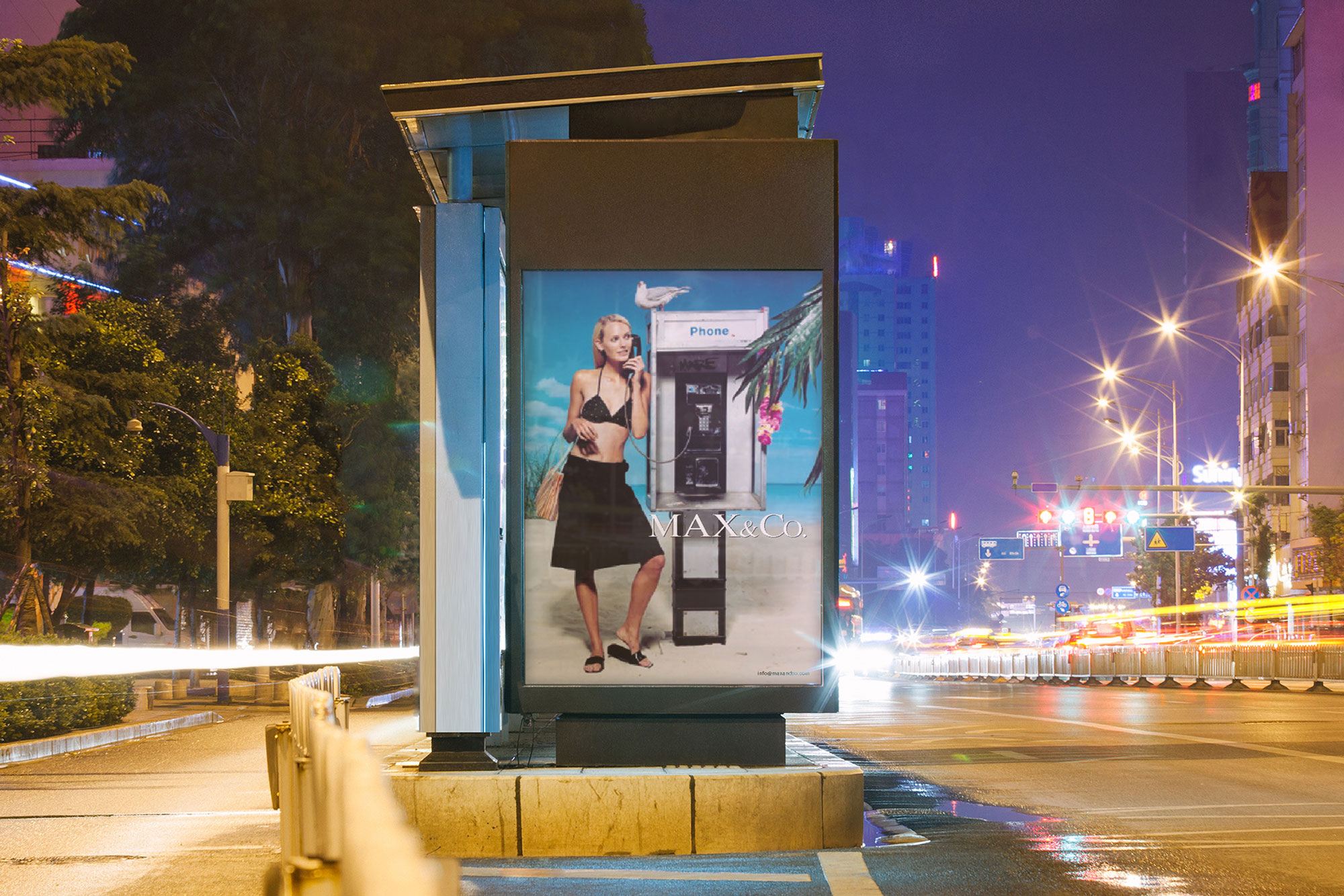 Fashion Advertising Max&co Likecube