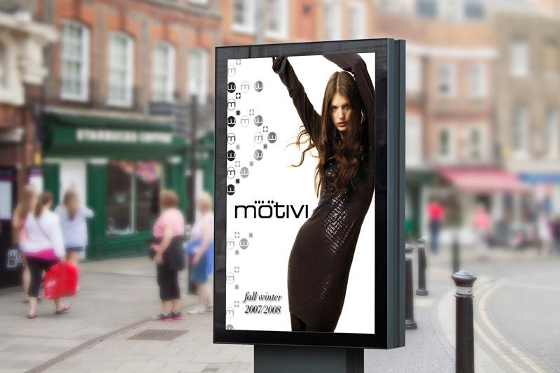 Fashion Advertising Motivi Likecube