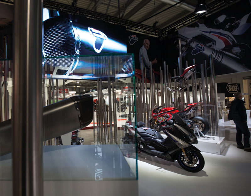 Termignoni exposition stand Likecube